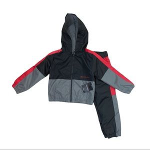 NEW Boys Body Glove Windbreaker 2 pc set Size 3T